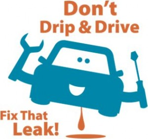 Don't Drip and Drive Logo