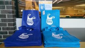 reusable bag station
