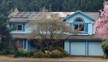 large solar array installed through Solarize Kirkland